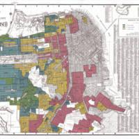 San Francisco HOLC map